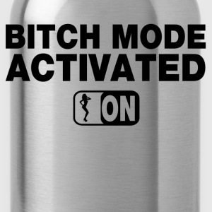 Bitch Mode On Tanks - Water Bottle