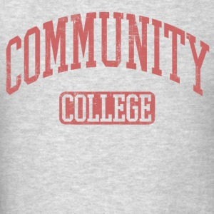Community College Long Sleeve Shirts - Men's T-Shirt