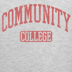 Community College Long Sleeve Shirts - Men's Premium Tank