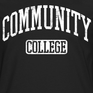 community college T-Shirts - Men's Premium Long Sleeve T-Shirt