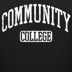community college T-Shirts - Men's Premium Tank