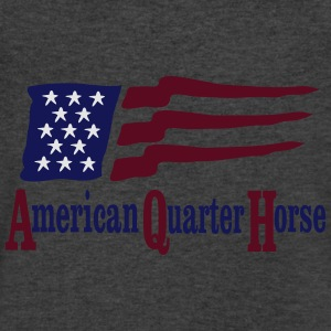 American Quarter Horse  Long Sleeve Shirts - Men's V-Neck T-Shirt by Canvas