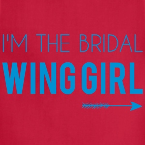 I'm the Bridal Wing Girl - Women's Tee - Adjustable Apron