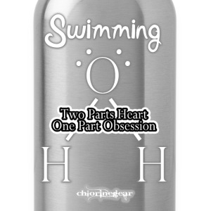 H20 2 Heart, 1 Obsession Kids' Shirts - Water Bottle