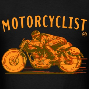 motorcyclist Hoodies - Men's T-Shirt