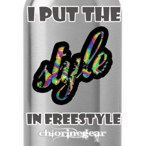 Put style in freestyle T-Shirts - Water Bottle