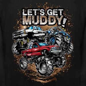 Let's Get Mega Muddy Baby & Toddler Shirts - Men's Premium Tank
