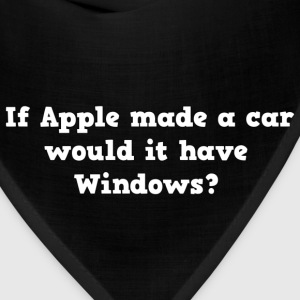 Apple car with windows? - Bandana