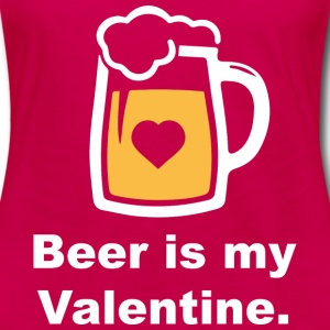 Beer Is My Valentine - Women's Premium Long Sleeve T-Shirt