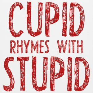 Cupid Rhymes With Stupid - Men's Premium Tank