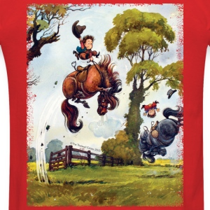 PonyRodeo Thelwell Cartoon Hoodies - Men's T-Shirt