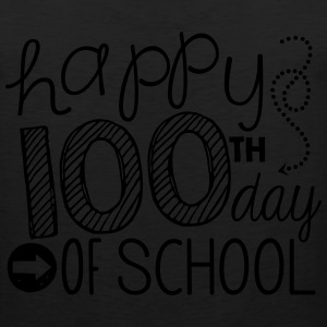 TeachersTshirts Happy 100th Day of School - Men's Premium Tank
