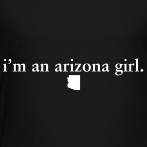 Arizona Girl Pride Proud T-shirt tee top shirt Kids' Shirts - Toddler Premium T-Shirt