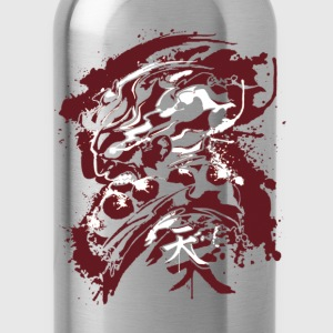 attack titan grunge - Water Bottle