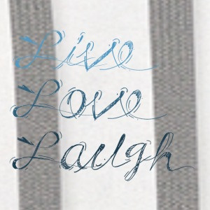 Live, Laugh, Love - Contrast Hoodie