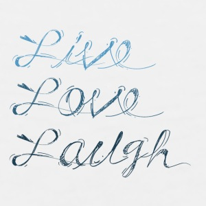 Live, Laugh, Love - Men's Premium Tank