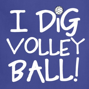 I Dig Volleyball T-Shirts - Adjustable Apron