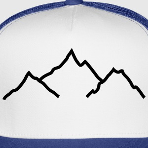 mountains Kids' Shirts - Trucker Cap
