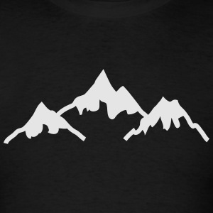 mountains Hoodies - Men's T-Shirt