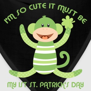 Sock Monkey 1st St. Pats Baby & Toddler Shirts - Bandana
