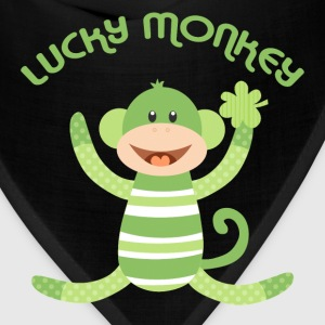 Lucky Sock Monkey Kids' Shirts - Bandana