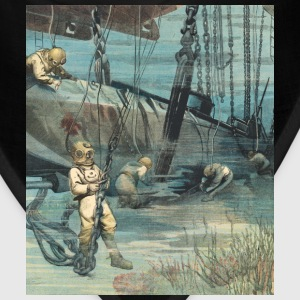 Vintage Divers with Helmets Salvaging a Submarine - Bandana
