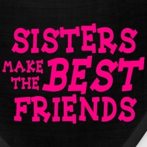 sisters make the best friends Tanks - Bandana