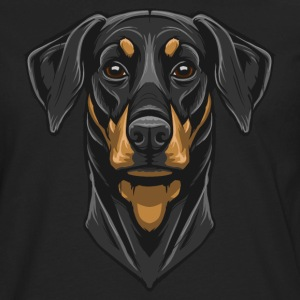 Dobermann T-Shirts - Men's Premium Long Sleeve T-Shirt
