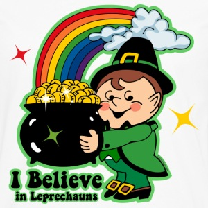 Believe In Leprechauns Kids' Shirts - Men's Premium Long Sleeve T-Shirt