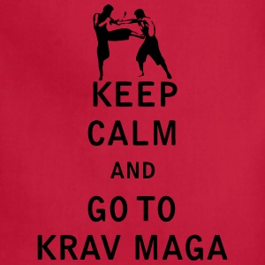 Keep Calm and Go To Krav Maga - Adjustable Apron