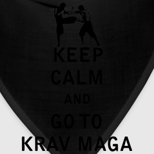 Keep Calm and Go To Krav Maga - Bandana
