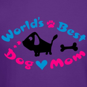 World's best dog mom Women's T-Shirt - Crewneck Sweatshirt