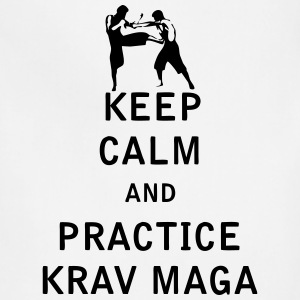 Keep Calm and Practice Krav Maga - Adjustable Apron