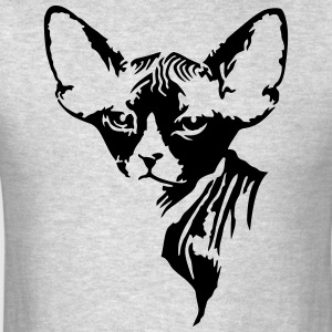 The sphynx cat Hoodies - Men's T-Shirt