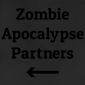 zombie apocalypse partners T-Shirts - Leggings
