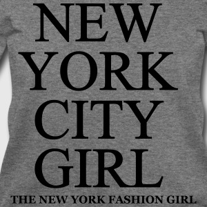 New York City Girl  Women's T-Shirts - Women's Wideneck Sweatshirt