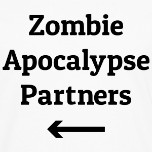 zombie apocalypse partners Hoodies - Men's Premium Long Sleeve T-Shirt