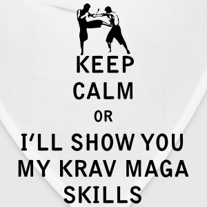 Keep Calm or i'll Show You My Krav Maga Skills - Bandana