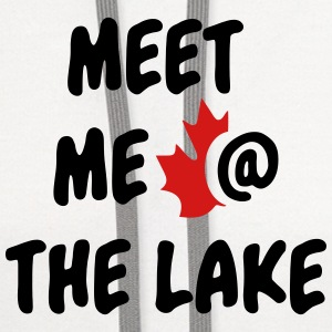 Meet me at the Lake Canada - Contrast Hoodie