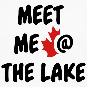 Meet me at the Lake Canada - Men's Premium Long Sleeve T-Shirt
