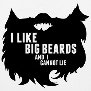 Big Beards Cool T-Shirt Tee Top Shirt Women's T-Shirts - Men's Premium Tank