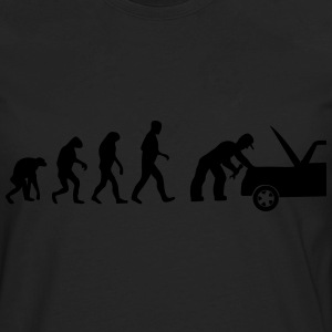 mechanic evolution T-Shirts - Men's Premium Long Sleeve T-Shirt