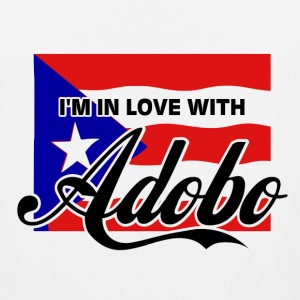 I'M IN LOVE WITH ADOBO - Parody COCO Song T-Shirt - Men's Premium Tank