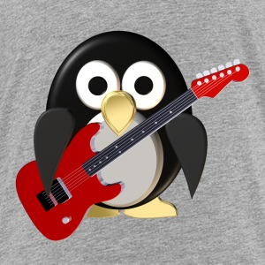 Funny penguin with guitar Sweatshirts - Toddler Premium T-Shirt