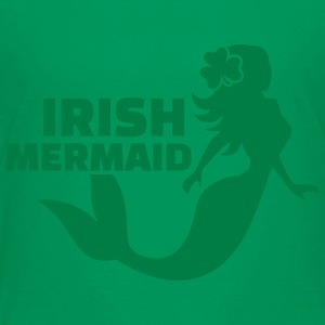 Irish mermaid Kids' Shirts - Toddler Premium T-Shirt