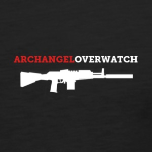 Archangel_overwatch_rifle T-Shirts - Men's Premium Tank