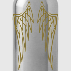 sweat angel wings - Water Bottle