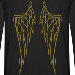sweat angel wings - Men's Premium Long Sleeve T-Shirt