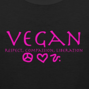 Vegan Respect Compassion Liberation Women's T-Shirts - Men's Premium Tank