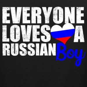 Everyone Loves a Russian T-Shirts - Men's Premium Tank